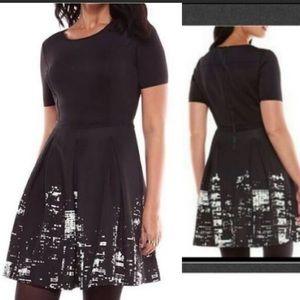Elie Tahari Dresses - Fit & Flare size 8 Elie Tahari NYC Skyline Dress